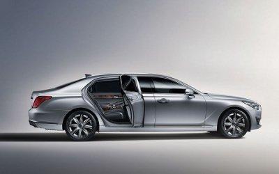 Удлинённый на 29 см Genesis G90 появился в продаже в России