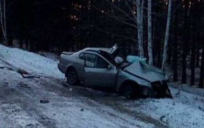 Девушка-водитель погибла в ДТП на трассе «Омск - Муромцево»