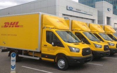 Автомобильная группа «АВИЛОН» передала партию из 207 автомобилей Ford логистической компании DHL