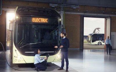 Volvo представили полностью электрический автобус 7900 Electric