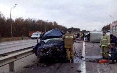 Два человека погибли в ДТП на трассе «Дон» в Липецкой области