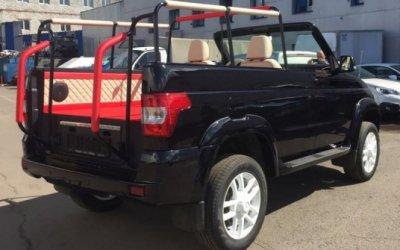 УАЗ будет делать кабриолеты для военных парадов