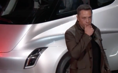 Презентация Tesla Semi оставила супергрузовик в будущем