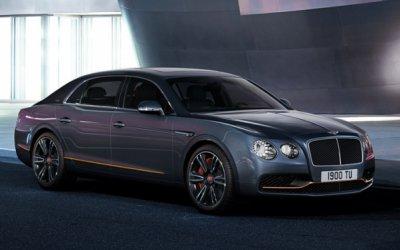 В Россию привезли лимитированные Bentley Flying Spur Design Series ручной отделки