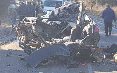 Под Владимиром столкнулись фура и Mercedes – погиб водитель легковушки