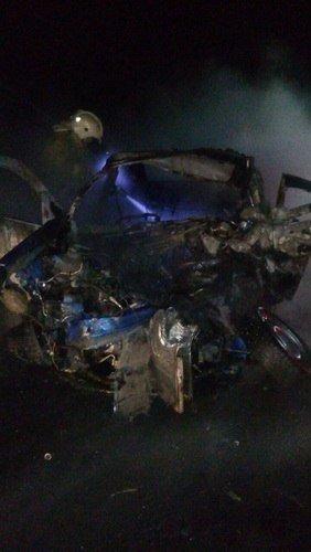 Четыре человека погибли в ДТП в бензовозом в Оренбургской области (4)