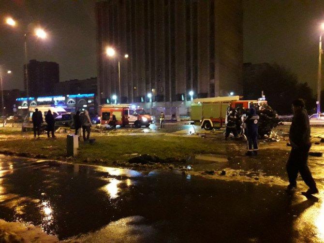 Четыре человека погибли в ДТП в Петербурге (1)