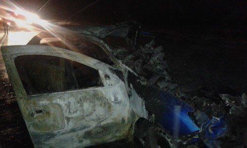 Четыре человека погибли в ДТП в бензовозом в Оренбургской области (1)