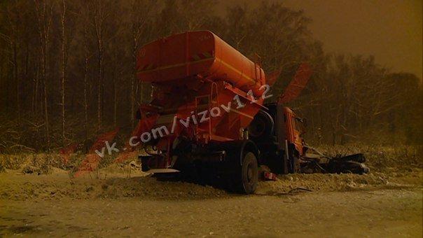 19-летний парень погиб в ДТП со снегоуборочной машиной в Зеленодольском районе Татарстана (1)