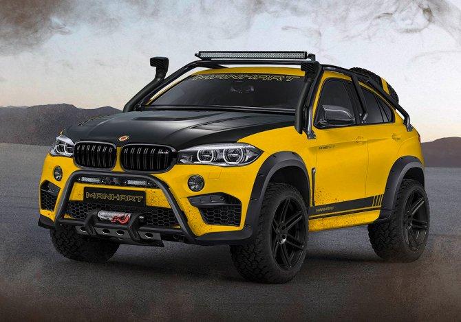 BMW X6 M тюнинговали для тяжелого бездорожья (1)