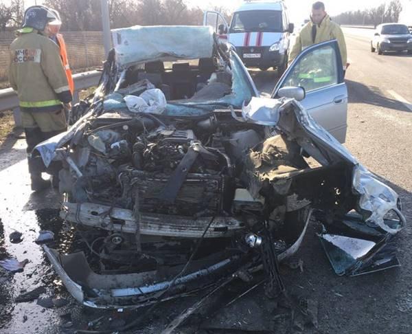 В Азовском районе в ДТП погибли два человека  (1)
