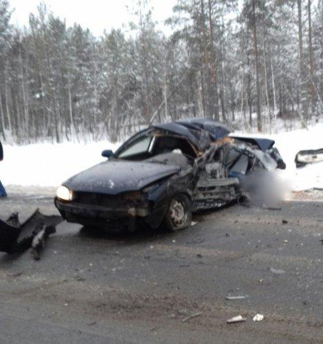 18-летний пассажир иномарки погиб в ДТП в Вологодской области (4)