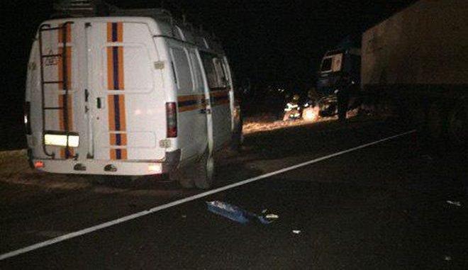 Три человека погибли в ДТП с фурой под Орлом