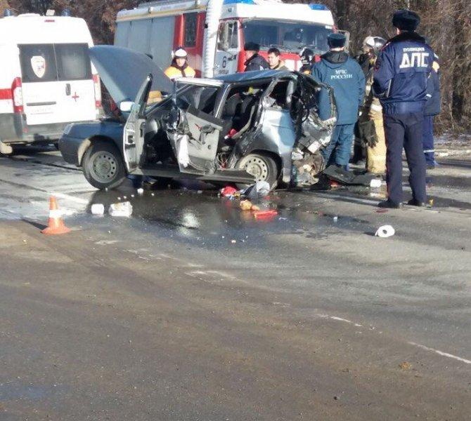Три человека, включая ребенка, пострадали в ДТП на трассе Липецк-Усмань в Грязинском районе (1)
