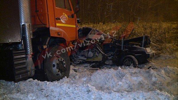 19-летний парень погиб в ДТП со снегоуборочной машиной в Зеленодольском районе Татарстана (3)