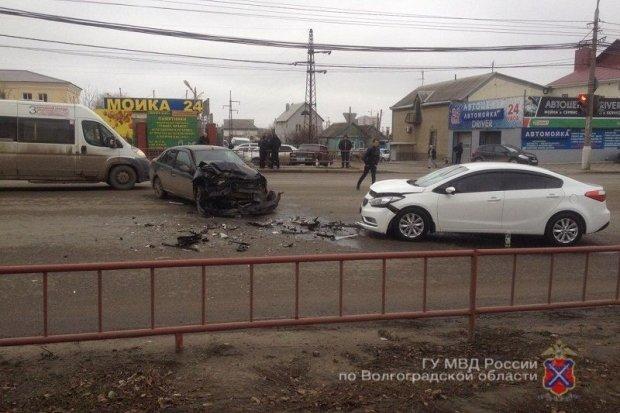 7-месячный ребенок пострадал в ДТП в Волгограде