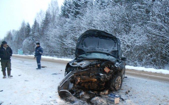 Три человека пострадали в ДТП брянской трассе