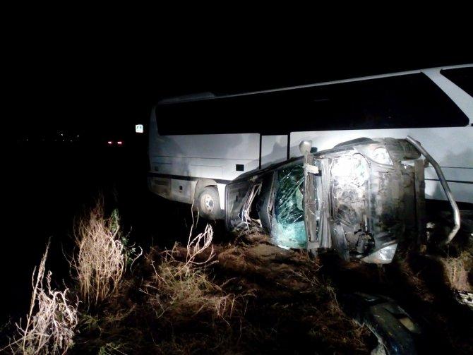 На Кубани в ДТП с автобусом пострадали четыре человека (2)
