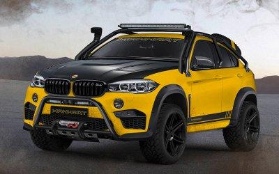 BMW X6 M тюнинговали для тяжелого бездорожья