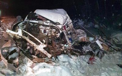 В массовом ДТП в Коми погиб один человек и пятеро пострадали