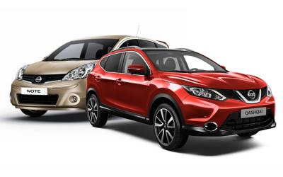 25 тысяч Nissan Qashqai и Nissan Note попали под отзыв в России