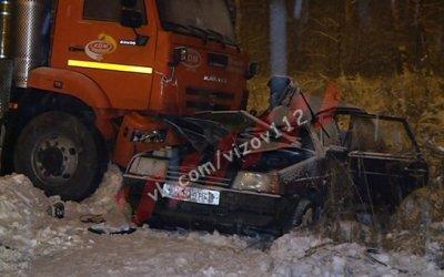 19-летний парень погиб в ДТП со снегоуборочной машиной в Зеленодольском районе Татарстана
