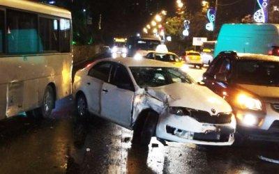 Подросток пострадал в ДТП с автобусом в Сочи