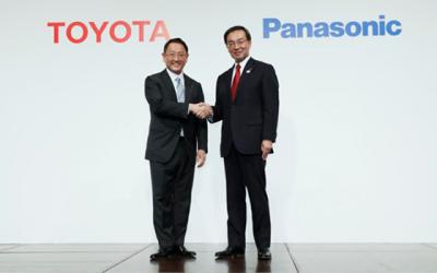 Toyota и Panasonic вместе займутся аккумуляторами для электрокаров