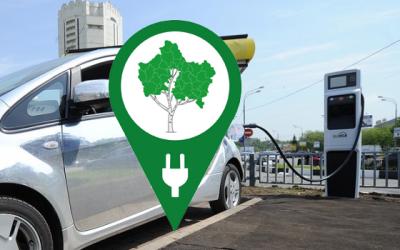 Единая сеть зарядных станций для электрокаров в Московской области получила логотип, но осталась без названия