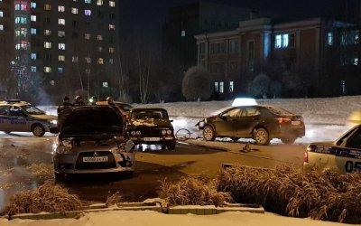 Пьяный водитель спровоцировал массовое ДТП в Барнауле