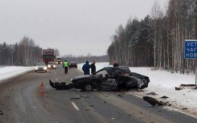 18-летний пассажир иномарки погиб в ДТП в Вологодской области