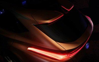 Lexus выложил в Сеть тизер своего нового кроссовера