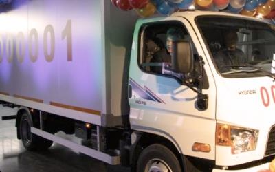 Корейские Hyundai HD78 экспортируются из России в Беларусь