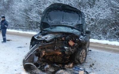 Три человека пострадали в ДТП на брянской трассе