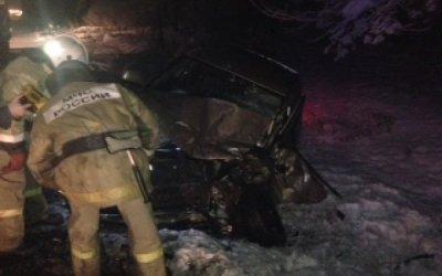 Водитель иномарки погиб в ДТП на трассе на трассе Владимир – Муром
