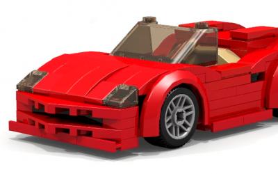 Ferrari не смог обогнать Lego