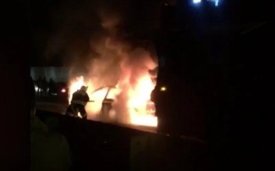 Три человека пострадали в ДТП с загоревшимся автомобилем в Сочи
