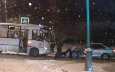 Двое взрослых и ребенок пострадали в ДТП в Пушкине