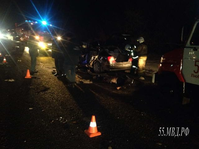 Пять человек погибли в ДТП под Омском (1)
