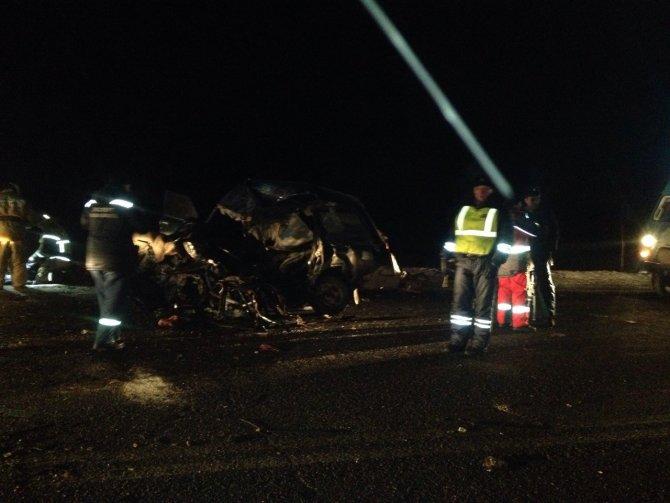 Пять человек погибли в ДТП под Омском (2)