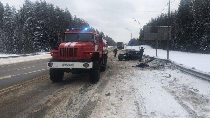 Женщина и ребенок погибли в ДТП в Тверской области (2)
