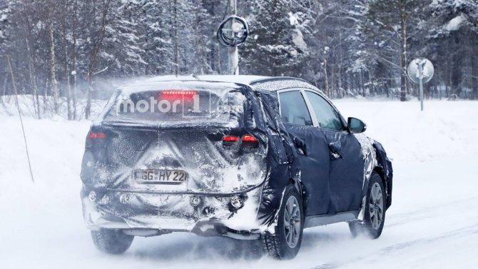 Новый Hyundai Tucson шпионские фото 7