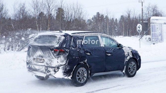 Новый Hyundai Tucson шпионские фото 5