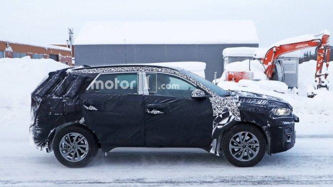 Новый Hyundai Tucson шпионские фото 3