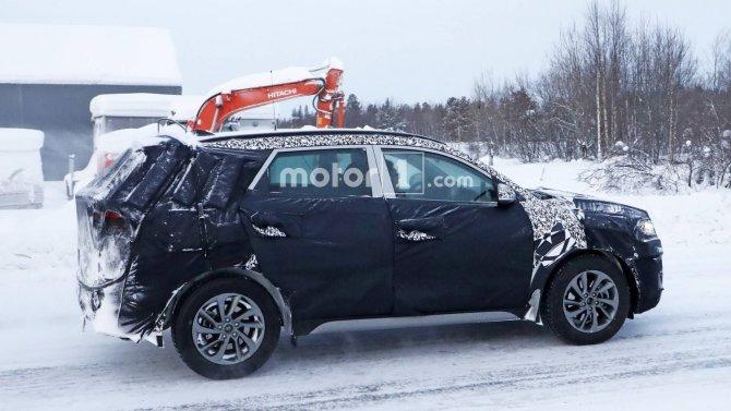 Новый Hyundai Tucson шпионские фото 4