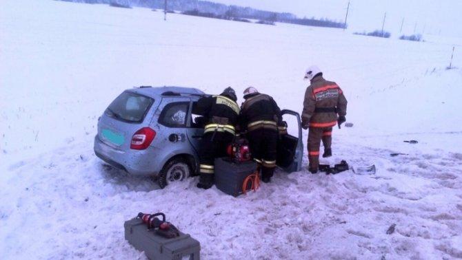В Чистопольском районе «Лада» врезалась в грузовик с газом – погибли два человека