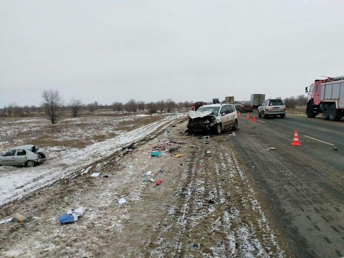 8-летний ребенок погиб в ДТП на трассе Москва– Волгоград в Иловлинском районе