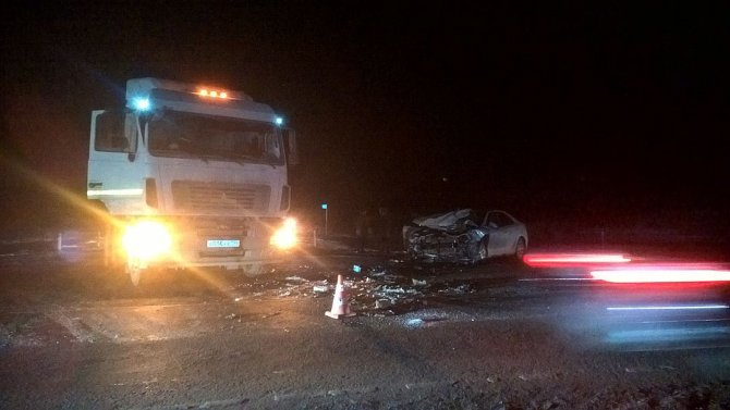 Пассажирка иномарки погибла в ДТП с фурой на автодороге Екатеринбург – Тюмень (6)