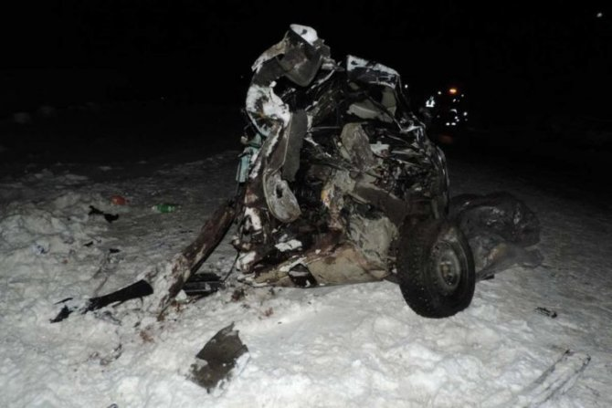 Молодой человек погиб в ДТП под Тюменью (2)