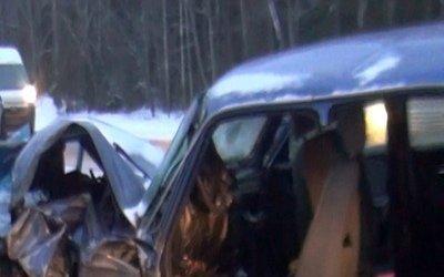 Четыре человека погибли в массовом ДТП под Вологдой